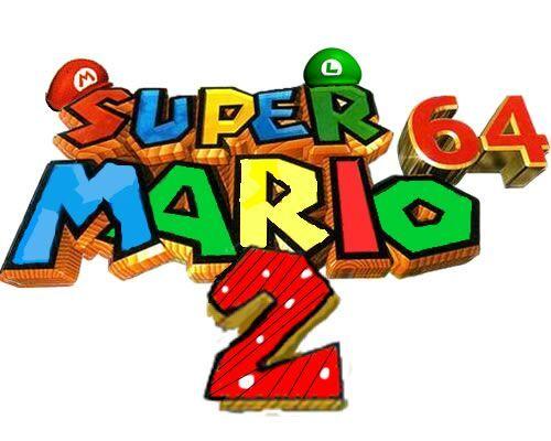 Super Mario 64 2 Logo