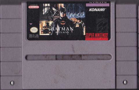 Batman Returns Super Nintendo