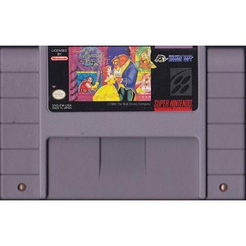 Beauty and the Beast Super Nintendo