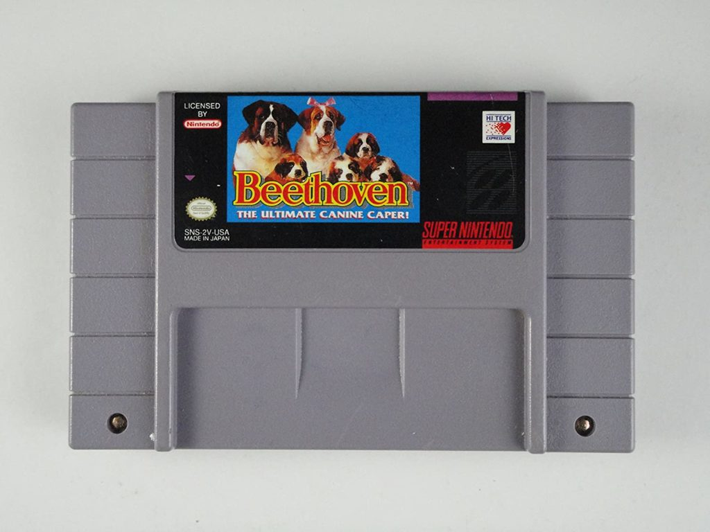 Beethoven: The Ultimate Canine Caper SNES