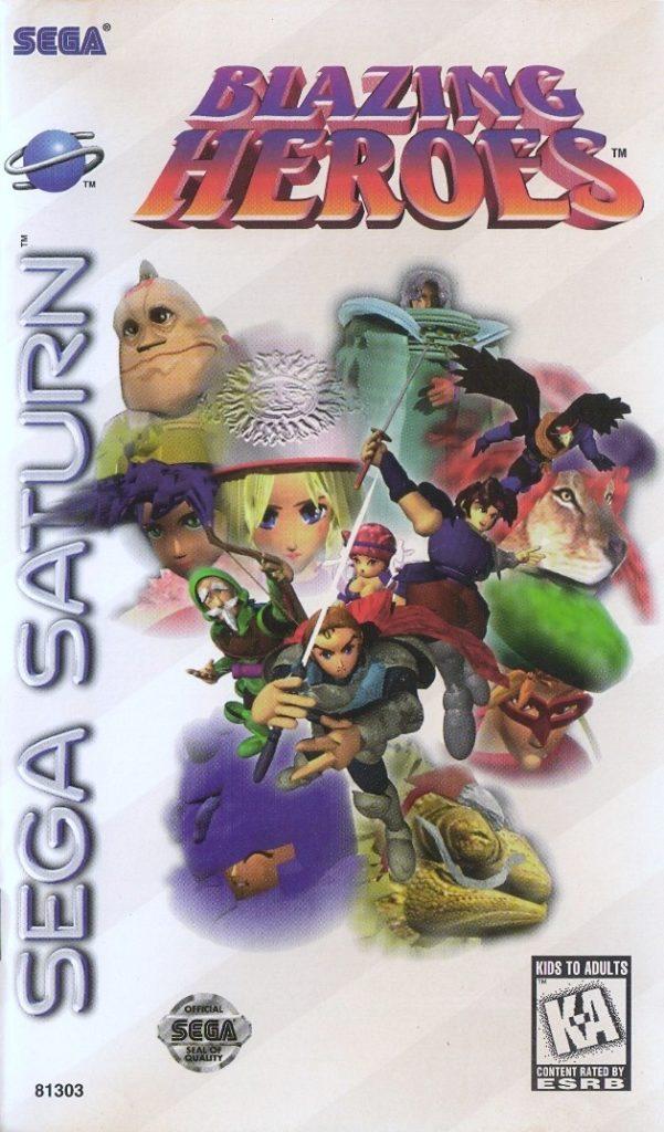 Blazing Heroes Saturn
