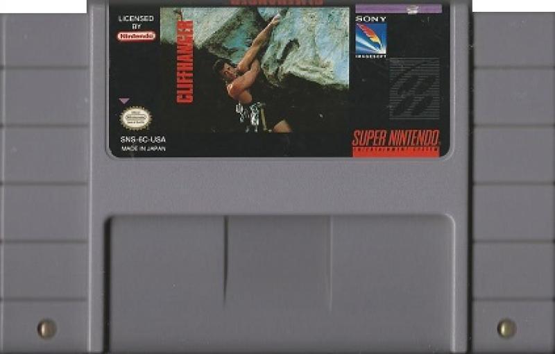 Cliffhanger Super Nintendo