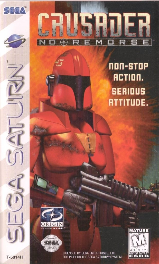 Crusader: No Remorse Saturn Box