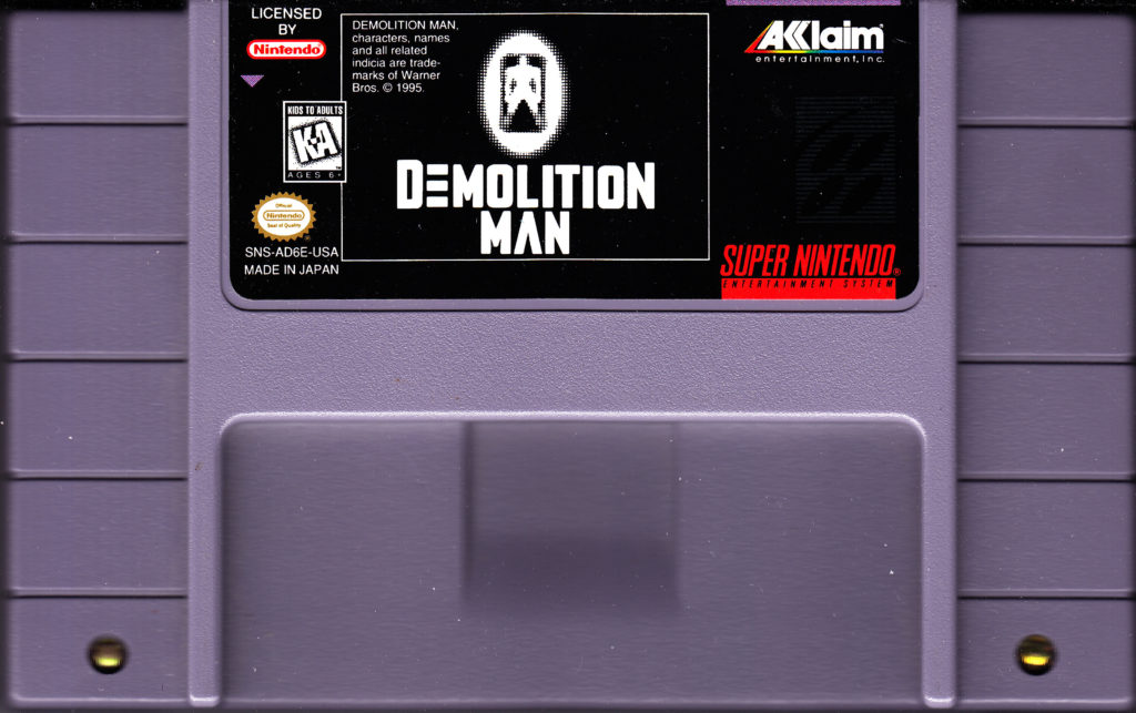 Demolition Man Super Nintendo