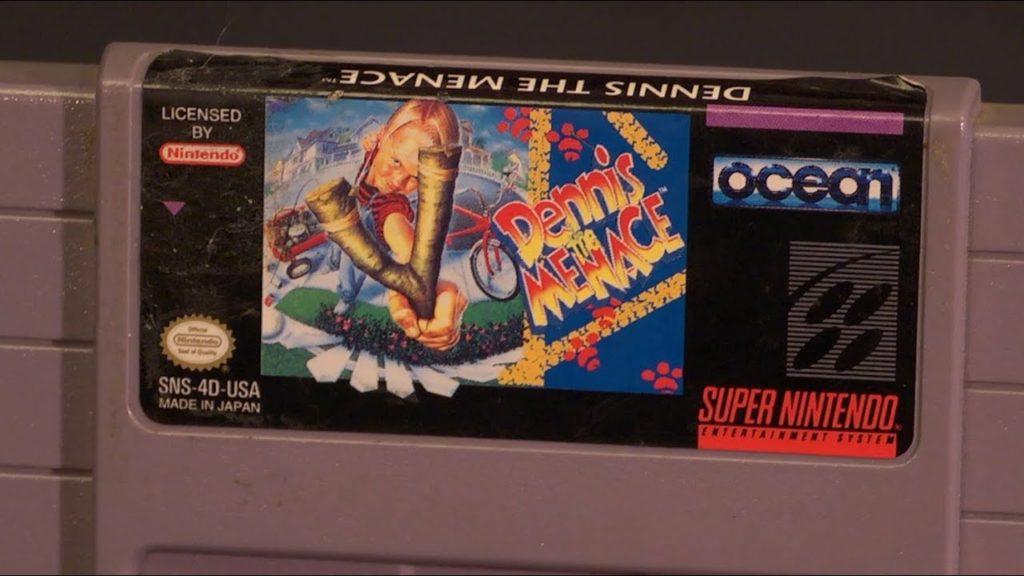 Dennis the Menace Super Nintendo