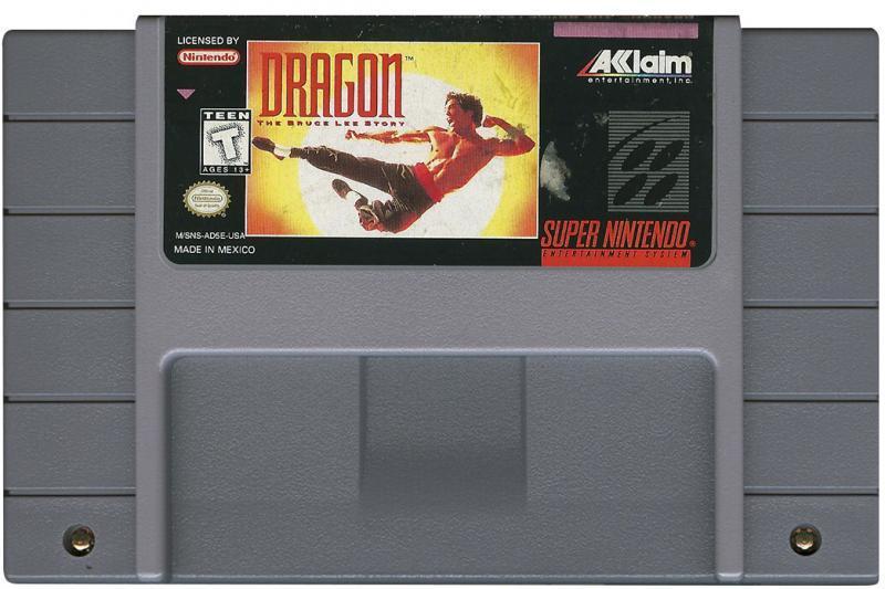Dragon: The Bruce Lee Story Super Nintendo