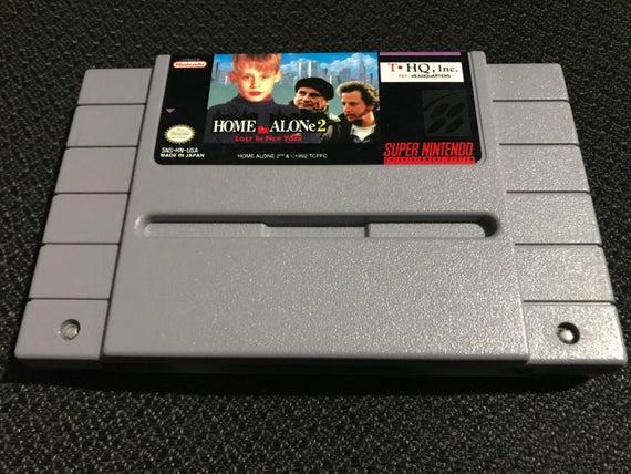 Home Alone 2 Super Nintendo