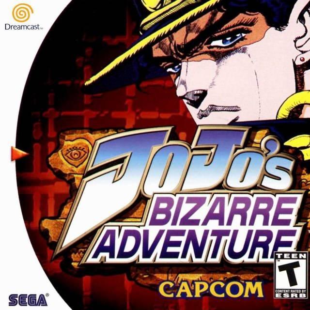 JoJo's Bizarre Adventure Dreamcast