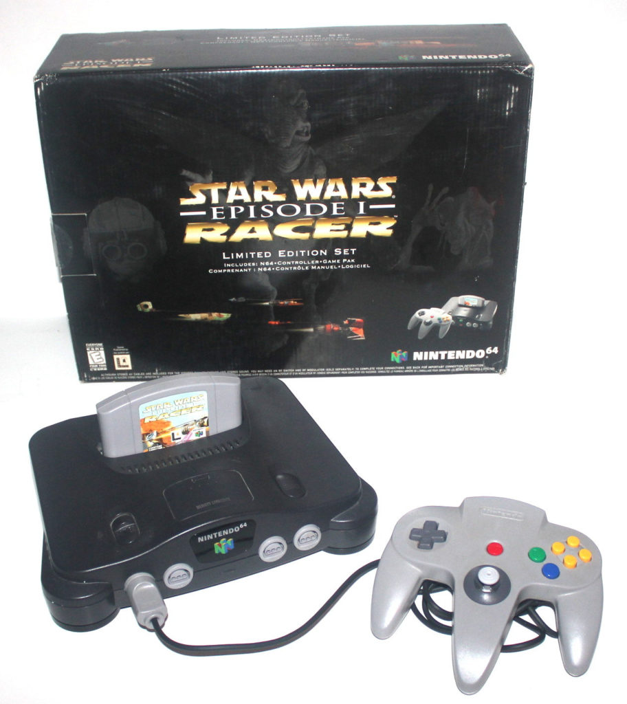 Star Wars Racer N64 Bundle