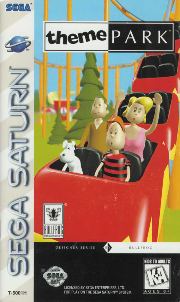 Theme Park Saturn Box