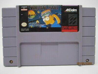 Virtual Bart SNES Cart